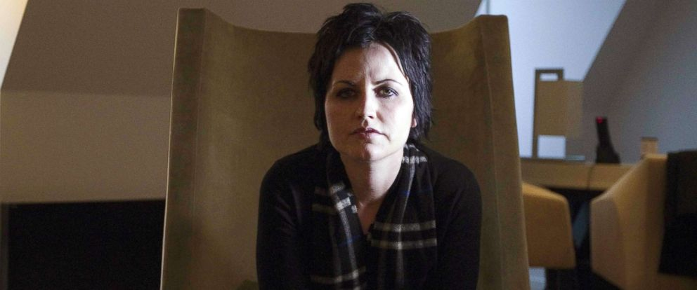 PHOTO: Dolores ORiordan, singer of the Irish rock band The Cranberries, Jan. 18, 2012 in Paris. The Cranberries singer Dolores ORiordan died on January 15, 2018 in London at the age of 46, a publicist statement said.