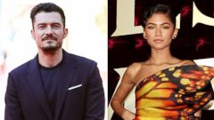 'PHOTO: Pictured (L-R) are Orlando Bloom in Rome, Nov. 4, 2017 and Zendaya in Sydney, Dec. 20, 2017.' from the web at 'https://s.abcnews.com/images/Entertainment/orlando-bloom-zendaya-gty-jt-171223_16x9t_240.jpg'