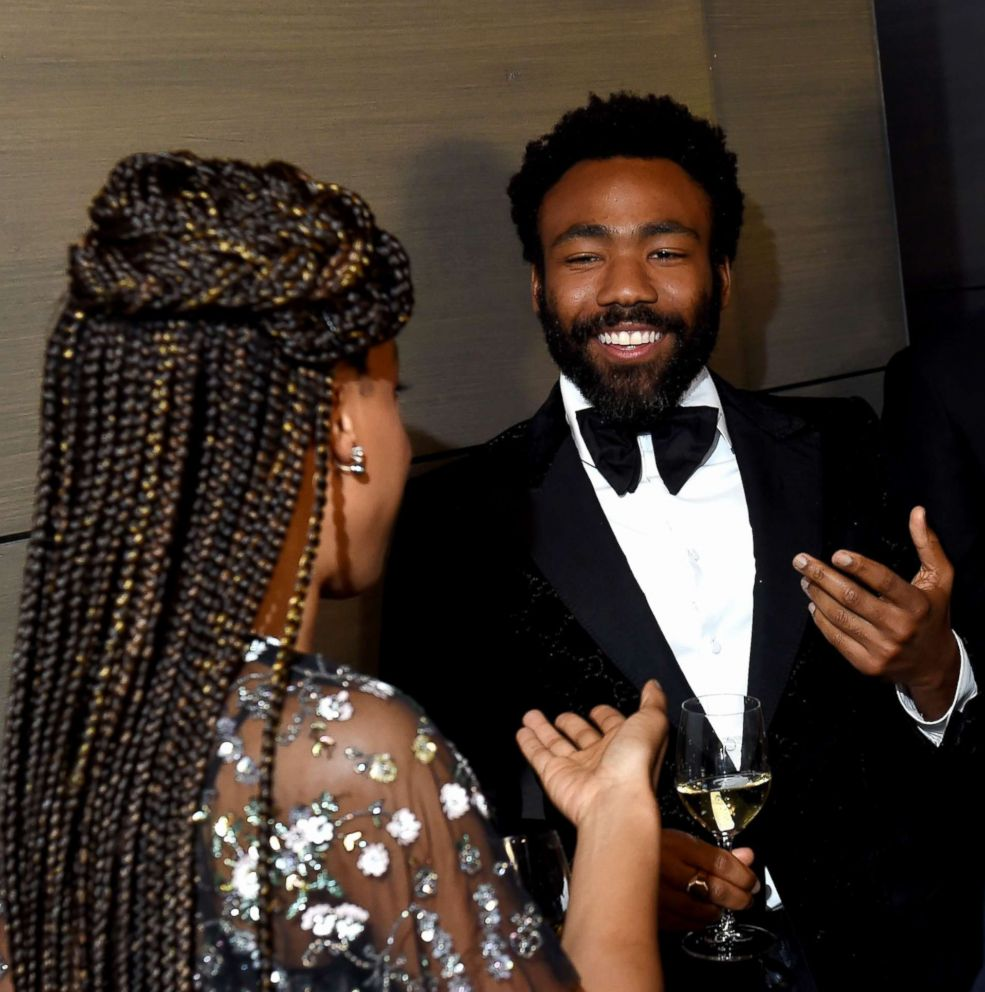 PHOTO: Donald Glover attends the 2018 Vanity Fair Oscar Party hosted by Radhika Jones at Wallis Annenberg Center for the Performing Arts, March 4, 2018, in Beverly Hills, Calif.