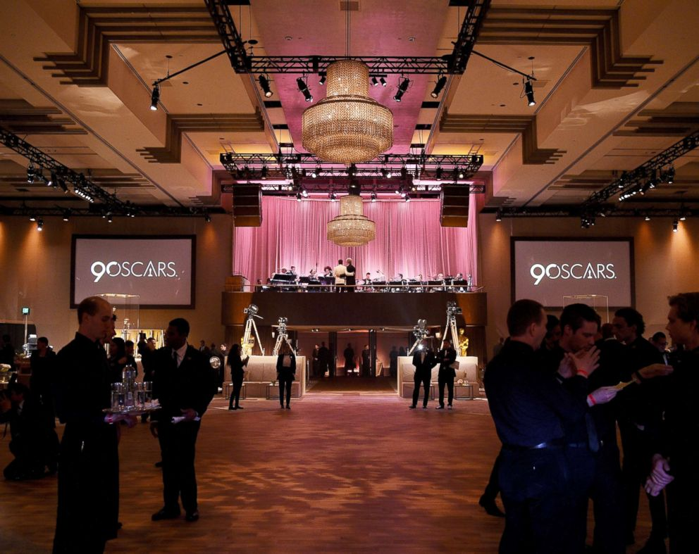 PHOTO: A general view of the 90th Annual Academy Awards Governors Ball at Hollywood & Highland Center, March 4, 2018, in Hollywood, Calif.