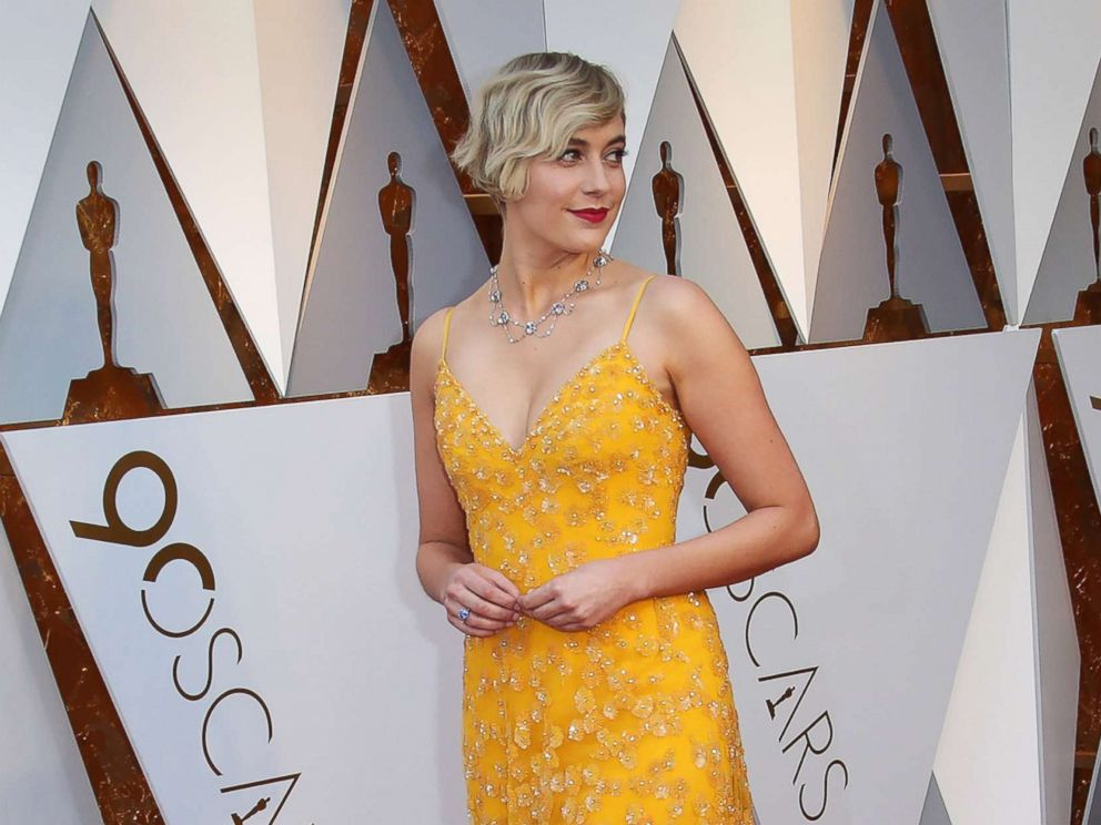 PHOTO: Greta Gerwig arrives at the 90th Academy Awards at Dolby Theatre, March 4, 2018.