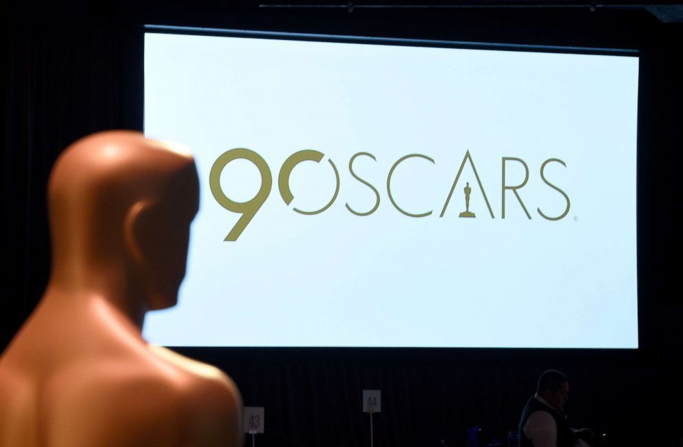 PHOTO: A view of the Oscar Statue at the 90th Annual Academy Awards Nominee Luncheon at The Beverly Hilton Hotel, Feb. 5, 2018, in Beverly Hills, Calif.