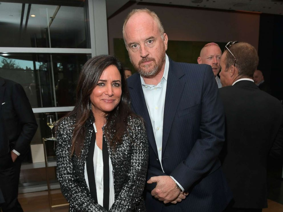 PHOTO: Pamela Adlon and Louis C.K. attend FX Networks celebration of their Emmy nominees in partnership with Vanity Fair at Craft, Sept. 16, 2017, in Century City, California.