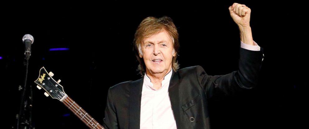 PHOTO Sir Paul McCartney Performs At Barclays Center Sept 21 2017
