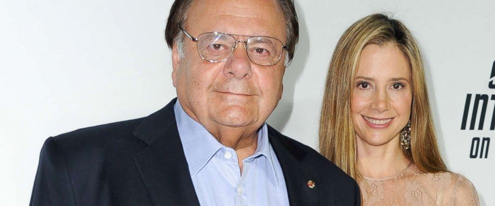 "PHOTO: Paul Sorvino and Mira Sorvino attend the Paramount Pictures celebration of the Blu-Ray and DVD debut of ""Star Trek: Into Darkness"" at California Science Center, Sept. 10, 2013 in Los Angeles."
