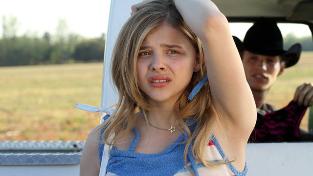 "PHOTO: Chloe Moretz stars as Luli McCullen in the movie ""Hick."""
