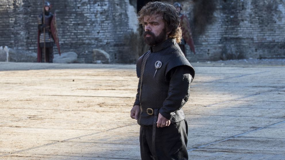 "Peter Dinklage in a scene of ""Game of Thrones."""