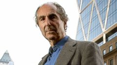 PHOTO: American writer Philip Milton Roth, in New York City, May 23, 2007.