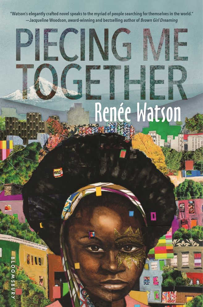 PHOTO: The cover for Piecing Me Together by Renee Watson is pictured here.
