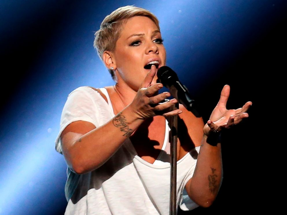 Pink Lands on Cover of 'People