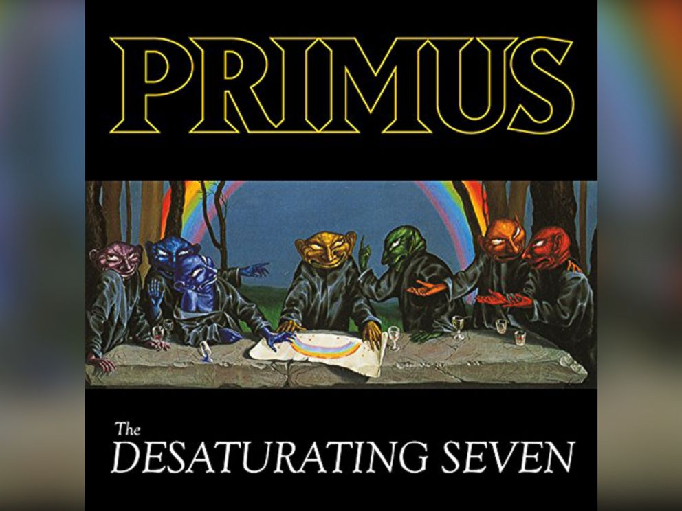 PHOTO: Primus - The Desaturating Seven