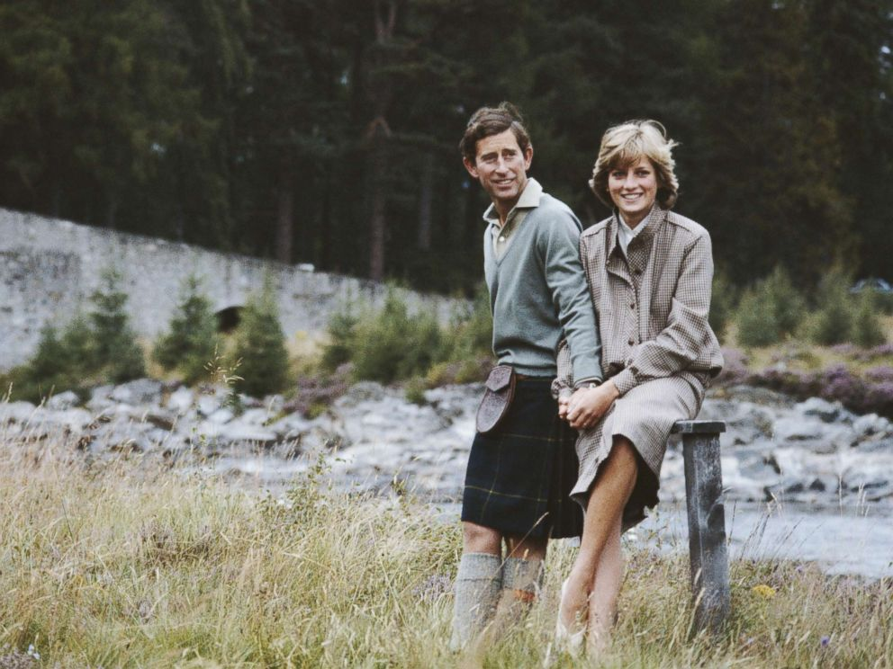 PHOTO: Prince Charles and Diana, Princess of Wales pose together during their honeymoon in Balmoral, Scotland, August 19, 1981.