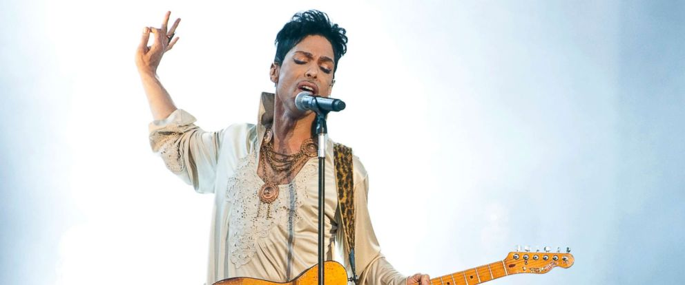 PHOTO: Prince headlines the main stage on the last day of Hop Farm Festival, July 3, 2011, in Paddock Wood, United Kingdom.