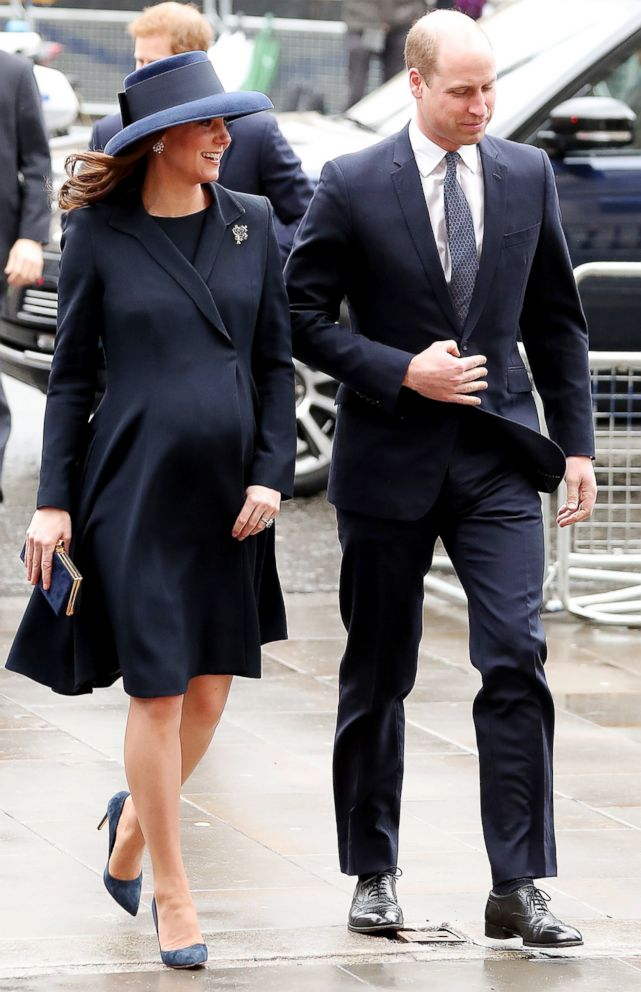 PHOTO: Catherine, Duchess of Cambridge and her husband Prince William, Duke of Cambridge, attend a Commonwealth Day Service at Westminster Abbey in central London, on March 12, 2018.