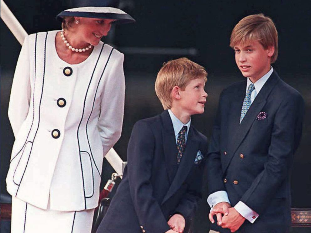 prince william prince harry open up about how they learned of their mother s death abc news she was religious in putting on her seat belt princess diana s sister speaks out