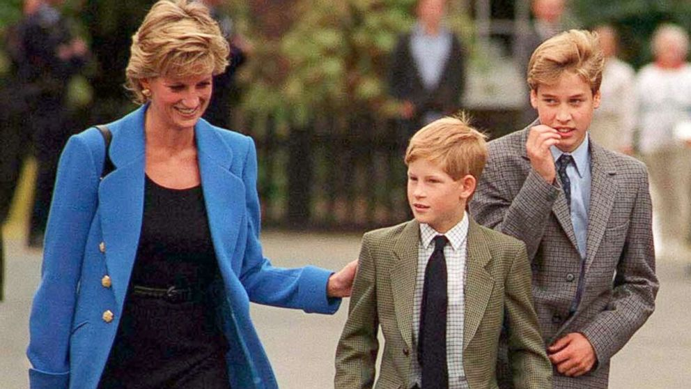 Princess Diana S Brother Says He Was Lied To About Princes William Harry Following Diana S Coffin Abc News