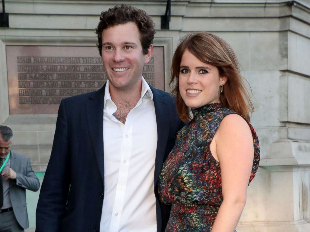 Photo Jack Brooksbank And Princess Eugenie At The Victoria And Albert Museum Summer Party