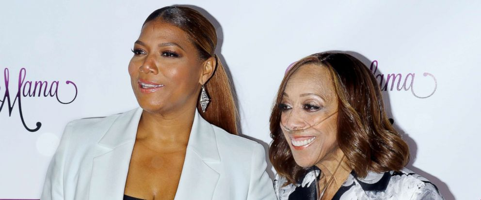 """PHOTO: Singer Queen Latifah and her mother Rita Owens attends the VH1s """"Dear Mama"""" taping at St. Bartholomews Church in this May 2, 2016 file photo in New York."""