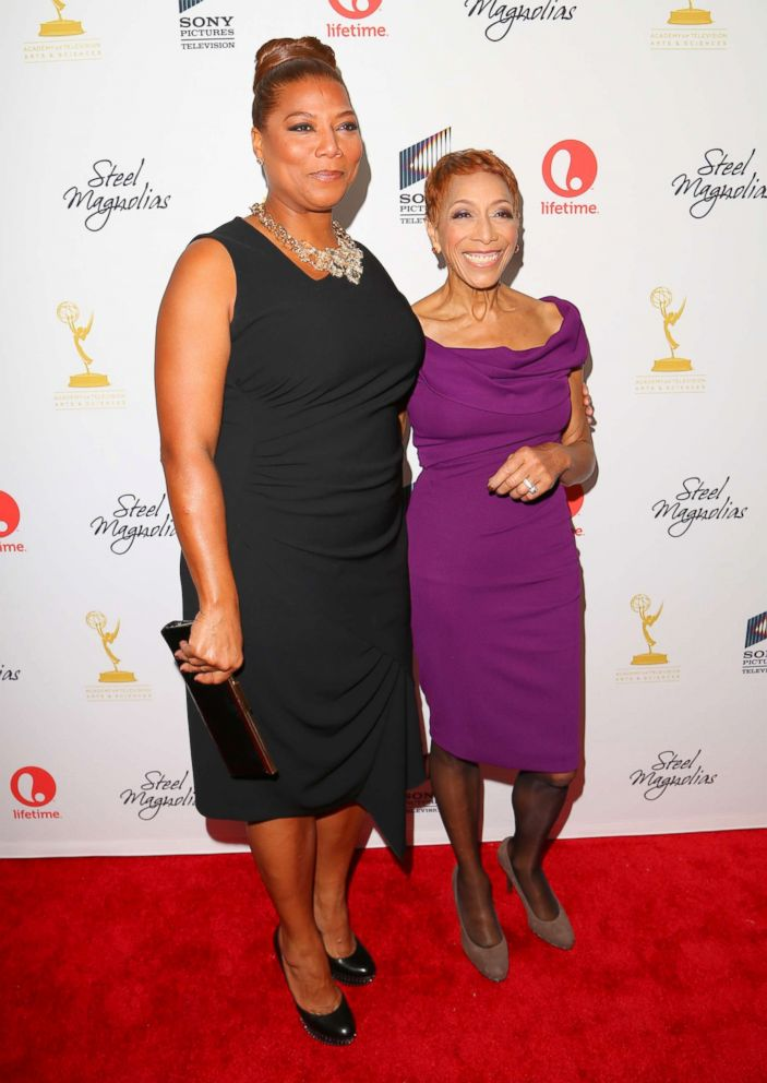 PHOTO: Queen Latifah and her mother Rita Owens attend the Steel Magnolias New York Premiere at Paris Theatre in this Oct. 3, 2012 file photo in New York City.