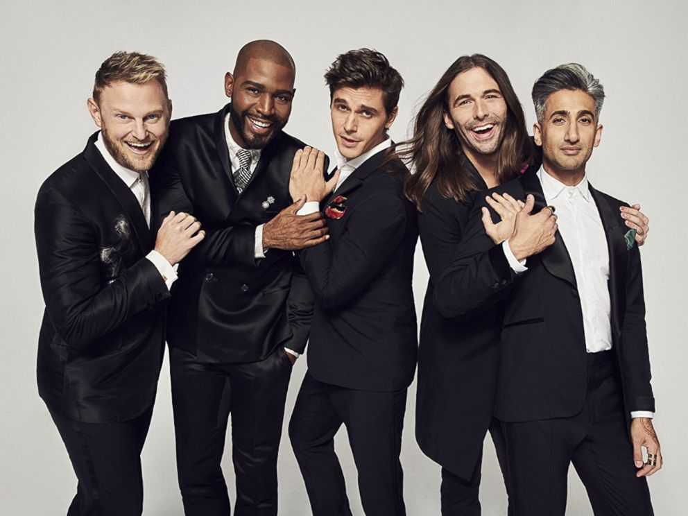 PHOTO: The guys from Queer Eye are seen here.