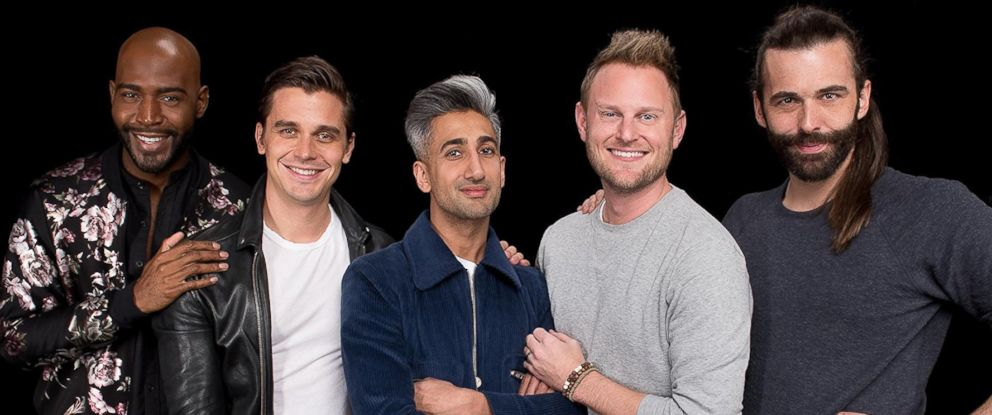 "PHOTO: The guys from ""Queer Eye"" are seen here."