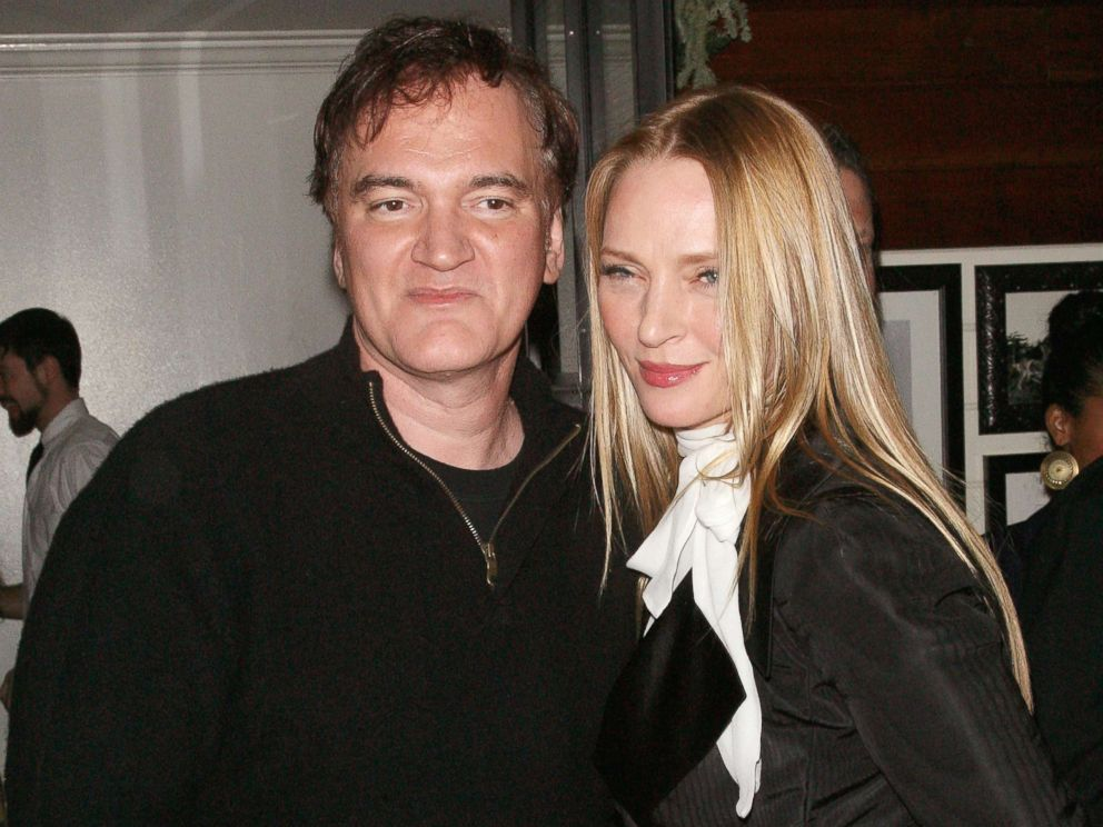 PHOTO: Quentin Tarantino and Uma Thurman attend an after-party for Django Unchained at The Standard Hotel, Dec. 11, 2012, in New York.