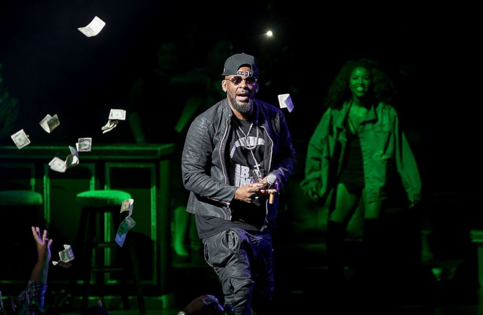 Time's Up targets R. Kelly over sexual misconduct claims