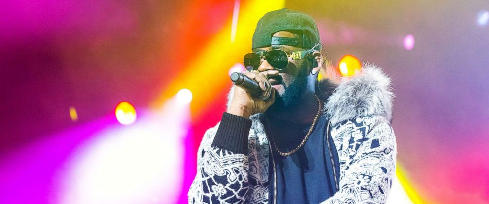 PHOTO: R. Kelly performs on Feb. 21, 2018, in Detroit.