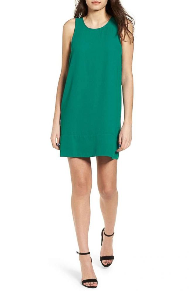 PHOTO: Strike the perfect balance between sporty and chic with this easy slip dress that transitions from meetings to meet-ups.