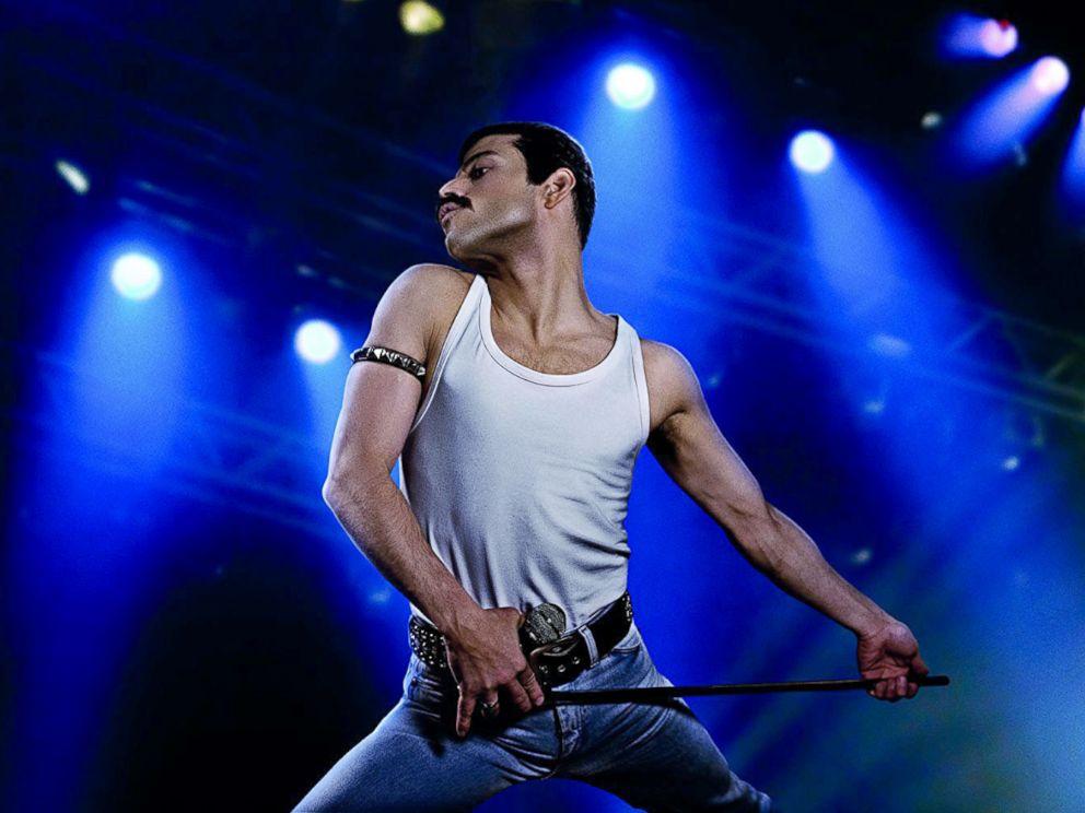 PHOTO: Rami Malek, as Freddie Mercury, in a scene from Bohemian Rhapsody.