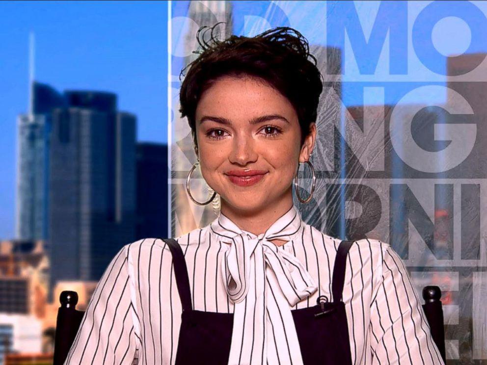 PHOTO: Rebekah Martinez appears on Good Morning America, Feb. 13, 2018.