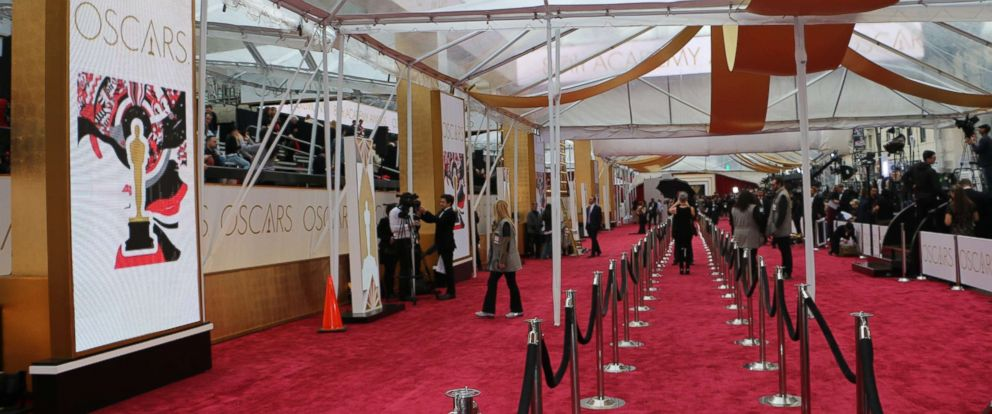 PHOTO: Red carpet is seen before the start of the 87th Annual Academy Awards at Hollywoods Dolby Theatre, Feb. 22, 2015, in Hollywood, Calif.