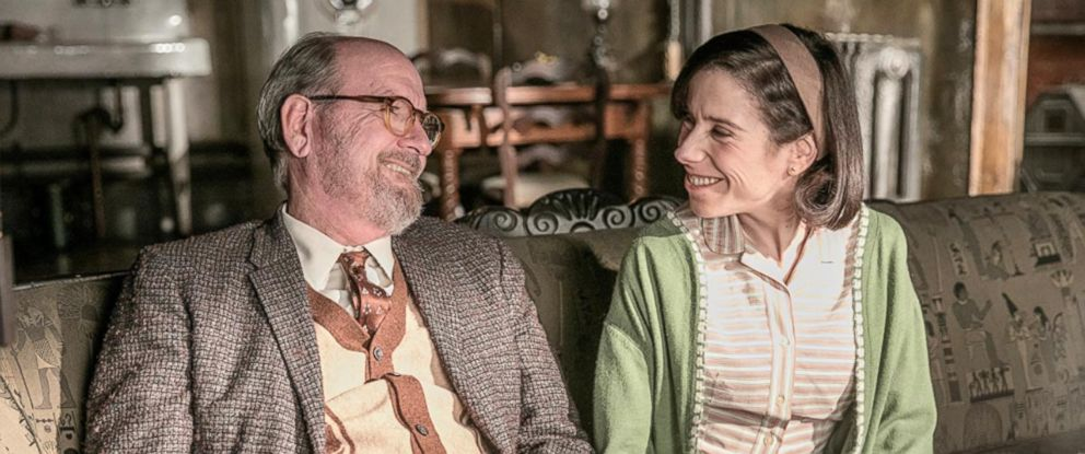 "PHOTO: Richard Jenkins and Sally Hawkins in ""The Shape of Water."""