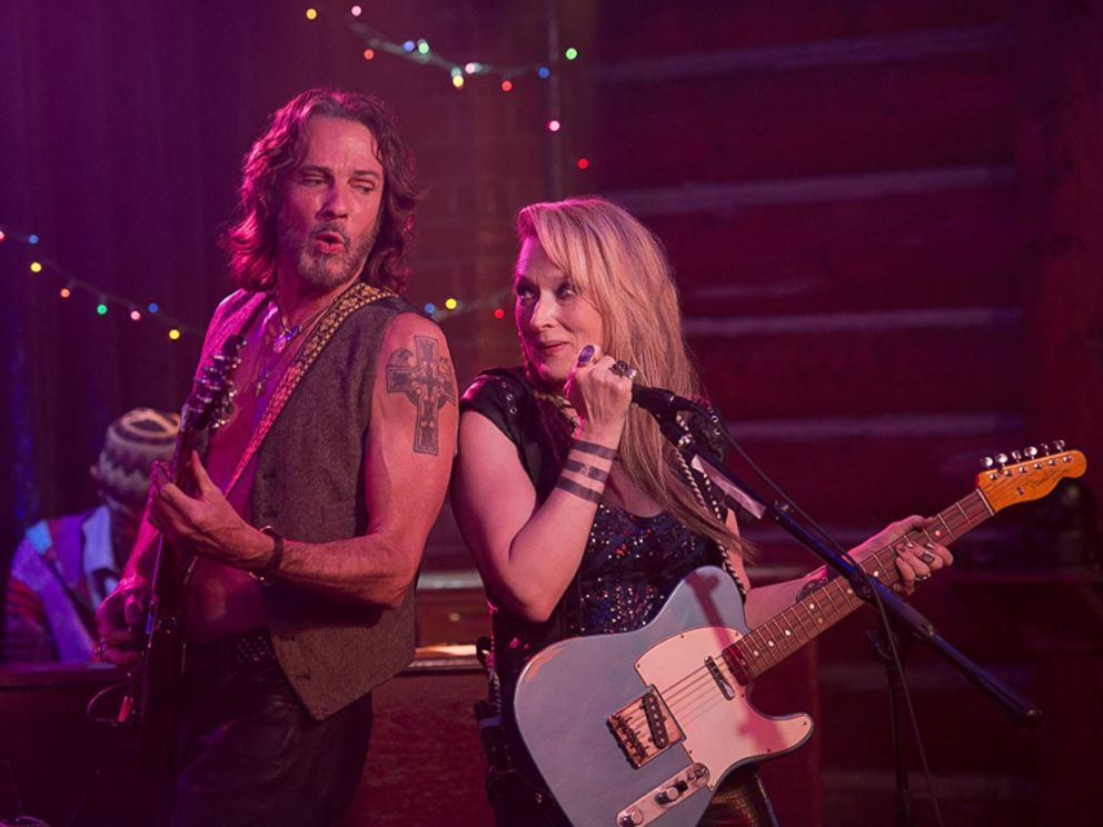 PHOTO: Rick Springfield and Meryl Streep in Ricki and the Flash.
