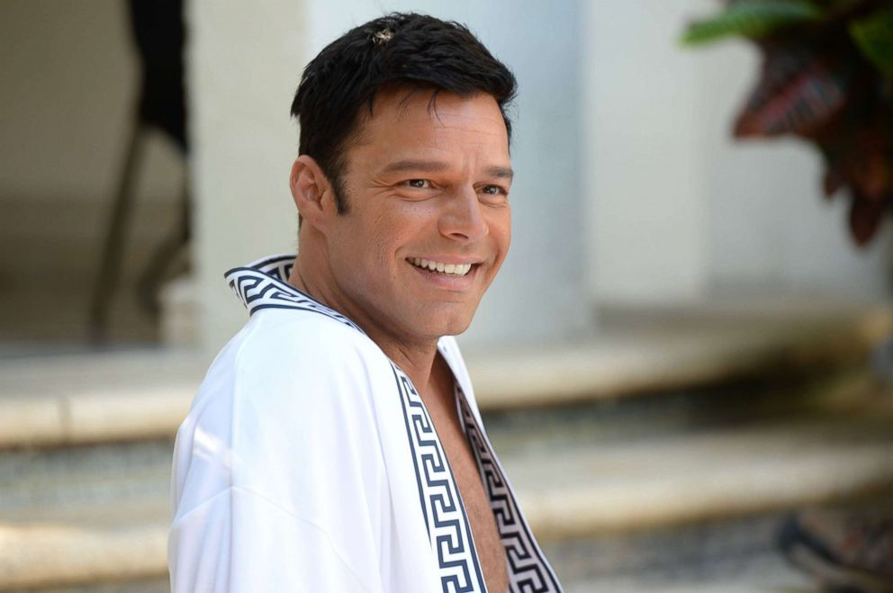 "Ricky Martin as Antonio D'Amico is pictured in a production still from ""The Assassination of Gianni Versace."""