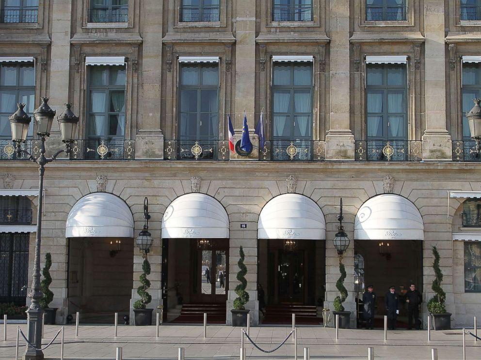 PHOTO: Exterior view of the Hotel Ritz Paris, Nov. 15, 2011, in Paris.