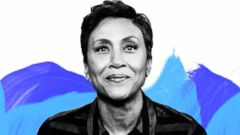 """PHOTO: """"Good Morning America"""" anchor Robin Roberts is featured in GMA Digitals series, """"On Their Shoulders."""""""