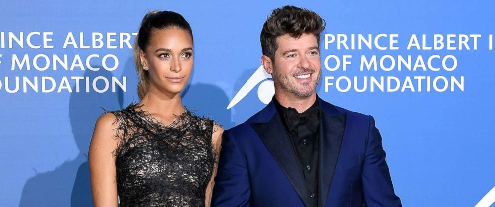 Robin Thicke Daughter Robin Thicke and girlf...