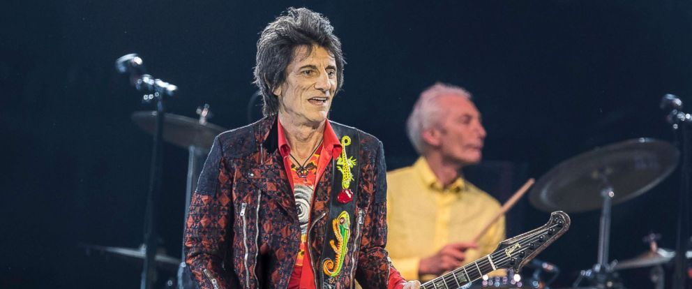 PHOTO: Ronnie Wood of the Rolling Stones performs in concert during their No Filter Tour at Friends Arena, Oct. 12, 2017, in Stockholm.