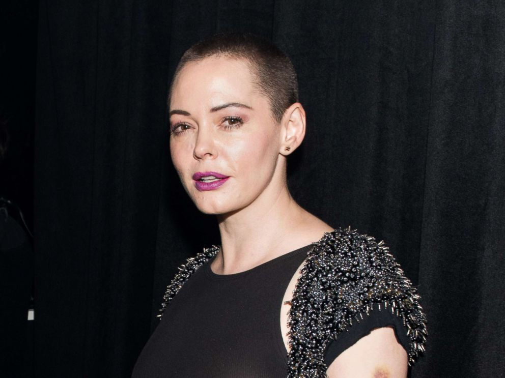 PHOTO: Actress Rose McGowan attends an opening, Nov. 28, 2016 in New York City.
