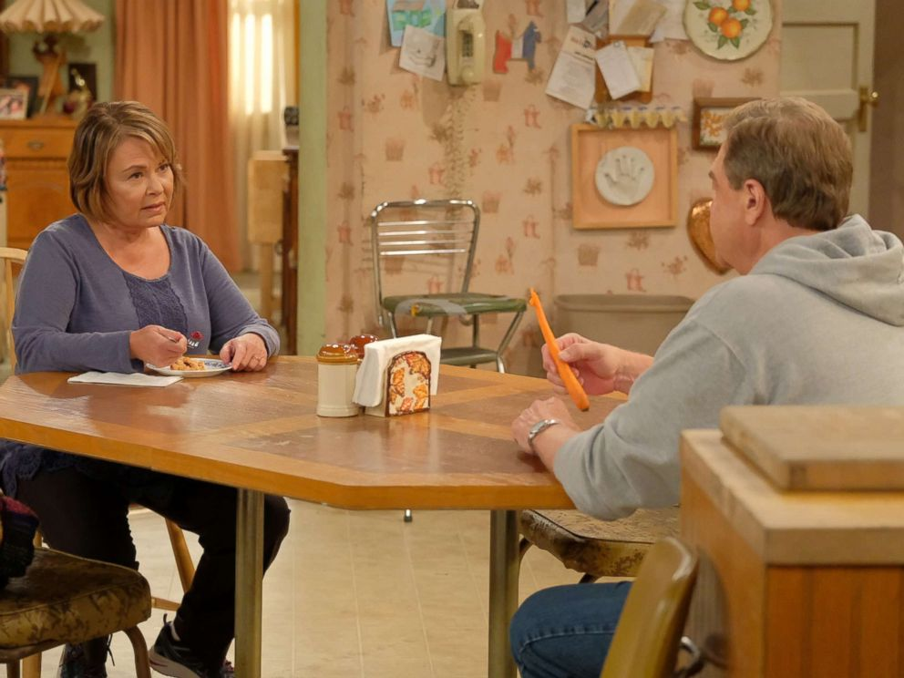 Roseanne dismisses Trump taking credit for ratings: 'It's all me'