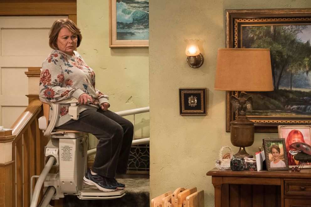 PHOTO: Roseanne Barr is pictured in the episode Roseanne Gets the Chair on Roseanne.