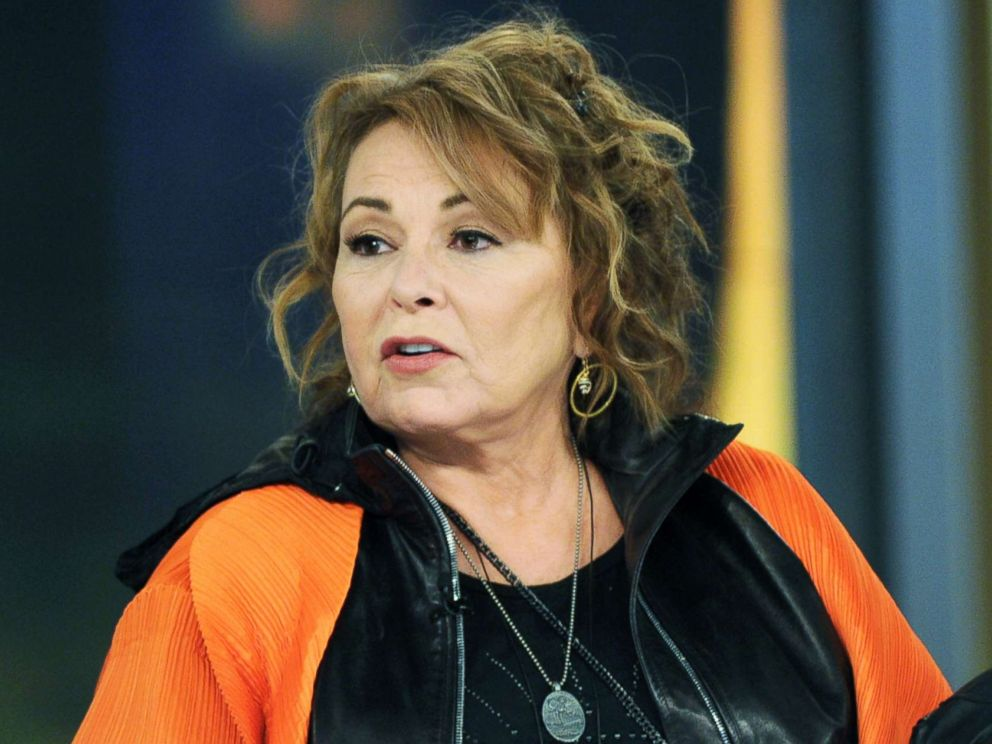 PHOTO: Roseanne Barr appears on The View, March 27, 2018.