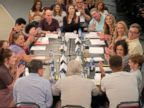 The cast of Roseanne reunites for their first table read