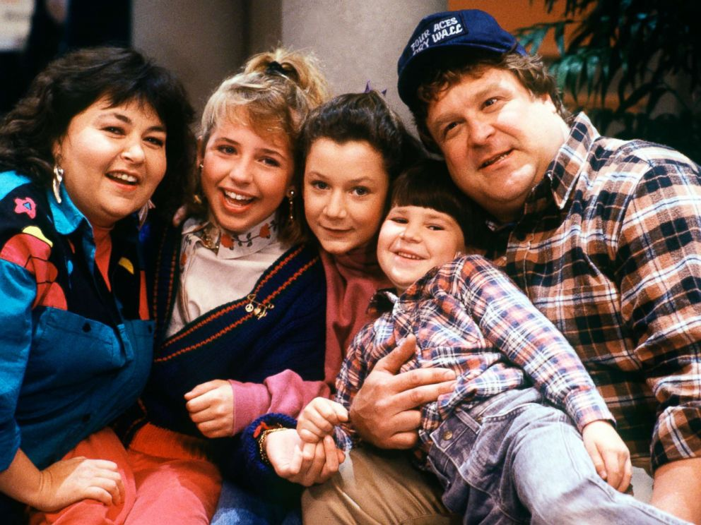 PHOTO: The cast of the iconic comedy series Roseanne from season one pictured on Dec. 12, 1988. The series returns to the ABC Television Network on March 27, 2018 with the complete original cast.