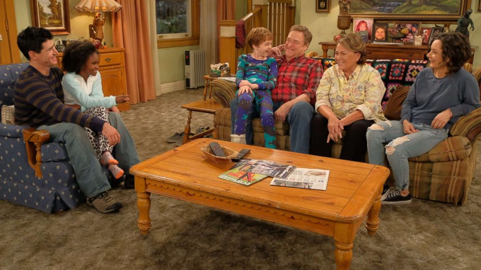 """The cast of """"Roseanne."""""""