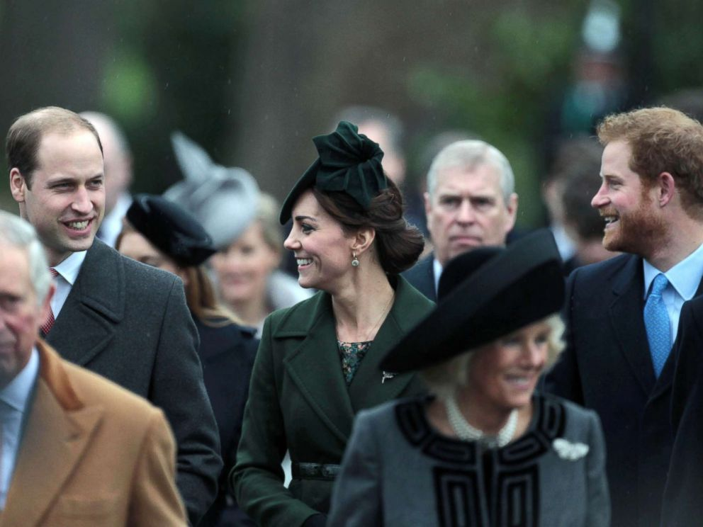 PHOTO: Members of The Royal Family attend the Christmas Day Service at St. Mary Magdalene Church on the Sandringham Estate, Dec. 25, 2015, Sandringham, Norfolk, U.K.