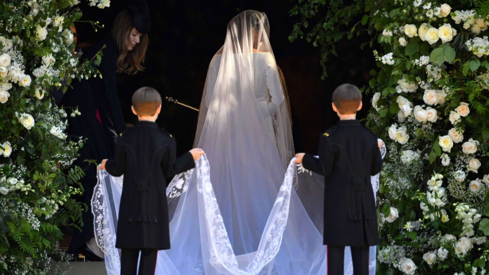 meghan markle s royal wedding dress designers speak out for 1st time on her gowns gma royal wedding dress designers speak