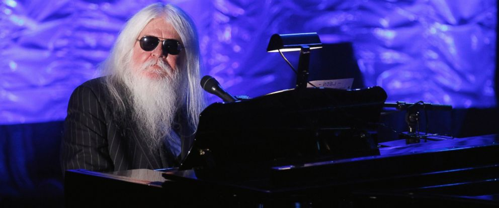 PHOTO: Leon Russell performs during the Songwriters Hall of Fame awards in New York, June 16, 2011.