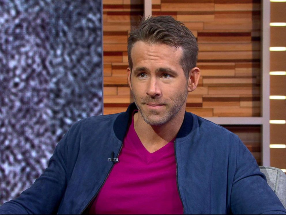 PHOTO: Ryan Reynolds appears on Good Morning America, May 15, 2018.